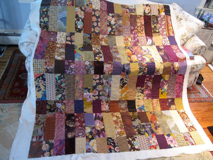 Front side of Harriet's quilt